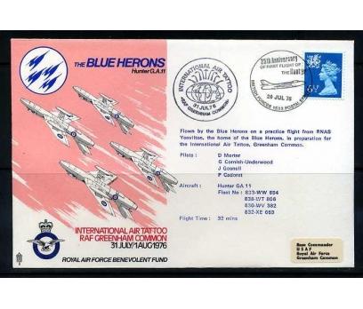 RAF ASKERİ UÇUŞ 1976 THE BLUE HERONS SÜPER