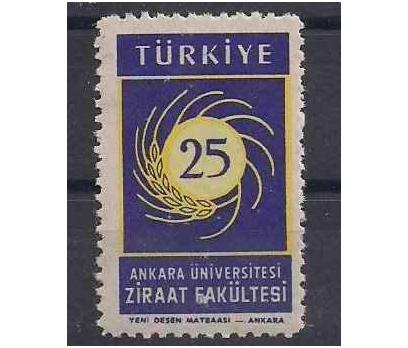 1959 AÜ Ziraat Fakültesi Damgasız**