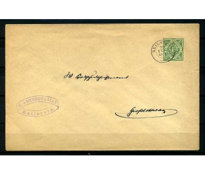 DEUTSCHE POST 1891 PORTOMARKEN POSTADAN G.Z.