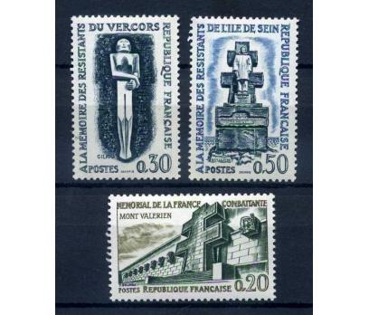 FRANSA ** 1962  TAM SERİ SÜPER (220515)