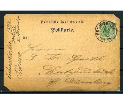 REİCH 1892 KLASİK POSTADAN GEÇMİŞ ANTİYE SÜPER