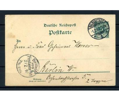 REİCH 1897 KLASİK POSTADAN GEÇMİŞ ANTİYE SÜPER