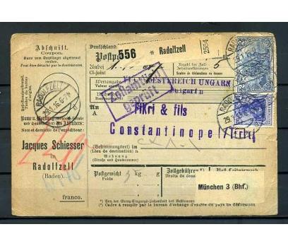 REİCH 1916 KLASİK HAVALE İSTANBUL'A GÖNDERİLM
