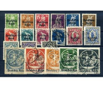 REİCH 1920-1921 DAMGALI TAM SERİ KLASİK SÜPER