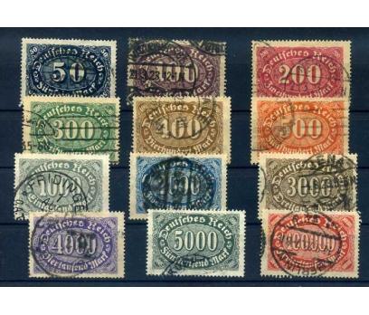 REİCH 1922 DAMGALI  TAM SERİ KLASİK SÜPER