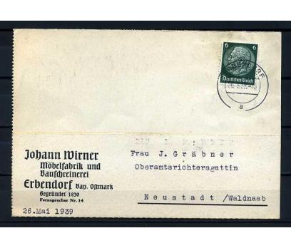 REİCH  1939 KLASİK P. GEÇMİŞ POSTA KARTI SÜPER