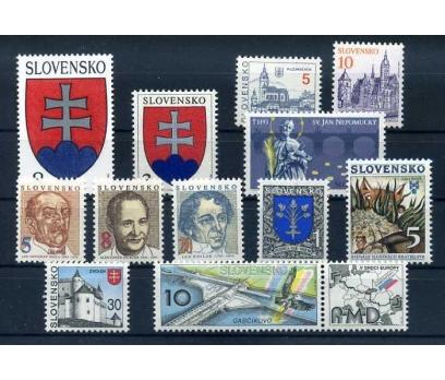 SLOVAKYA ** 1993  ARMA Vd. 9 TAM SERİ SÜPER