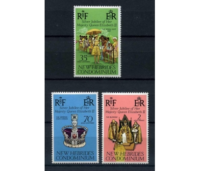 NEW HEBRIDES ** 1977 SILVER JUBILEE TAM S. (A-2)