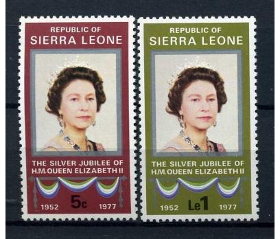 SIERRA LEONE **1977 SILVER JUBILEE TAM S. (A-2)