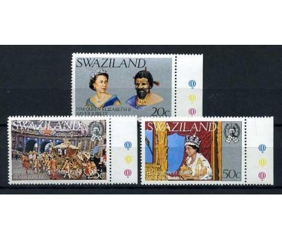 SWAZILAND **1977 SILVER JUBILEE TAM S.  (A-2)
