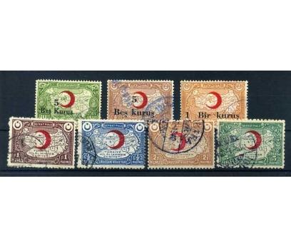 KIZILAY DAMGALI 1932-35 HİLAL-İ AHMER 7 TAM SERİ
