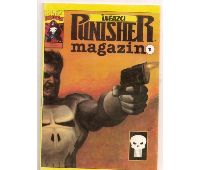 İNFAZCI PUNISHER - SAYI - 11 - ÇİZGİ ROMAN
