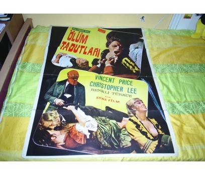 THE OBLON BOX ÖLÜM TABUTLARI VINCENT PRICE AFİŞ
