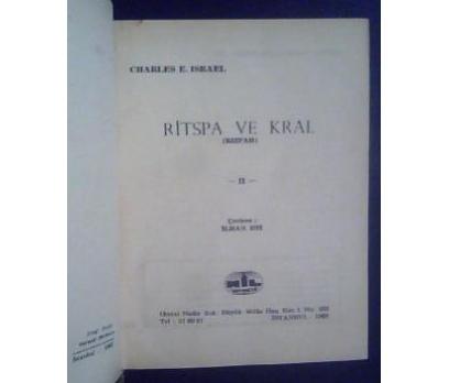 RİTSPA VE KRAL 1  1968 BASIM