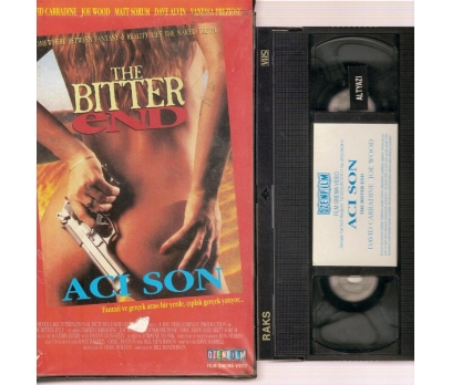 THE BITTER END ACI SON DAVIT CARRADINE VHS Film