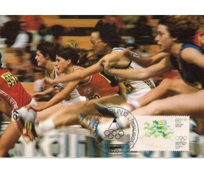 1984 Berlin Olimpiyatlar Maksimum Kart Atletizm