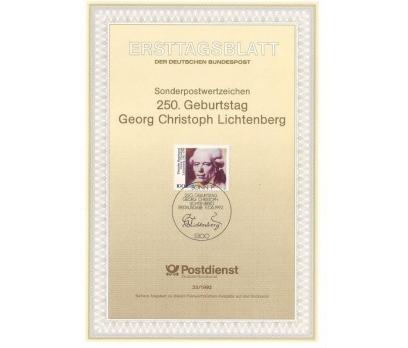 Almanya ETB 23-1992 Georg Christoph Lichtenberg