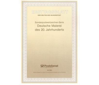 Almanya ETB 24-1992 Deutsche Malerei