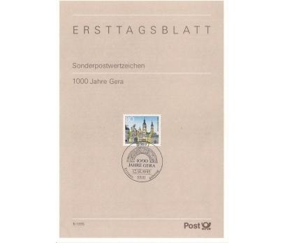 Almanya ETB 01-1995 Gera 100 yaşında