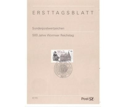 Almanya ETB 02-1995 Worms 500 yıl Diyeti