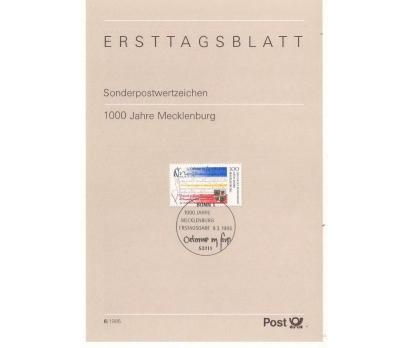 Almanya ETB 06-1995 Mecklenburg 1000 yaşında