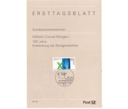 Almanya ETB 08-1995 X-ışınlarının Keşfi 100.yıl