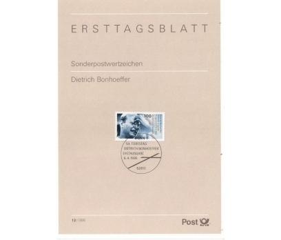 Almanya ETB 12-1995 Dietrich Bonhoeffer