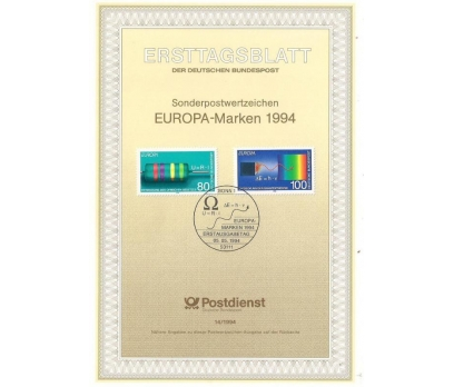 Almanya ETB 14-1994 EUROPA Markaları 1994