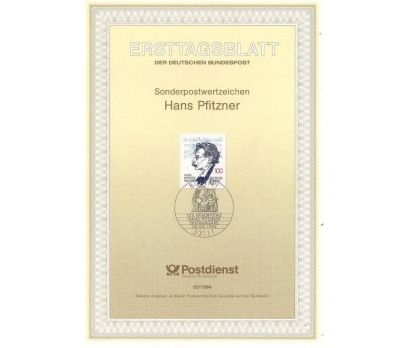 Almanya ETB 16-1994 Hans Pfitzner