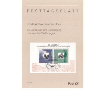 Almanya ETB 17-1995 Beedigung 50. yıldönümü