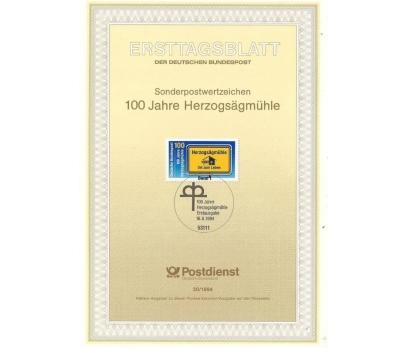 Almanya ETB 20-1994 100 yıllık değirmen Herzogsäg