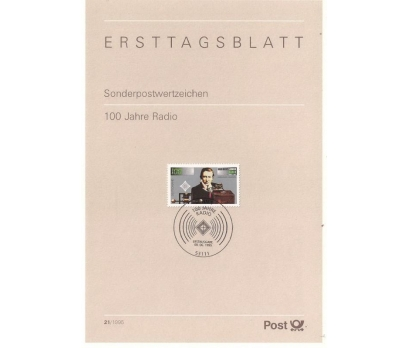 Almanya ETB 21-1995 Radyo 100 Yaşında