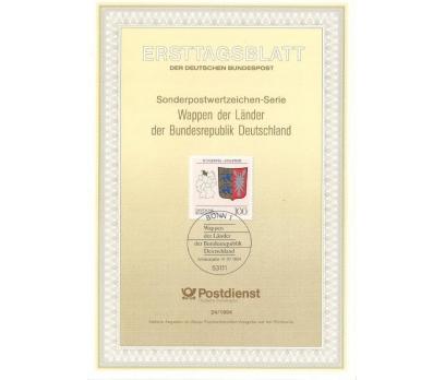 Almanya ETB 24-1994 Schleswig-Holstein Arması
