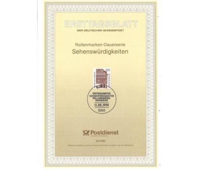 Almanya ETB 25-1994 Görülecek Turistik Yerler