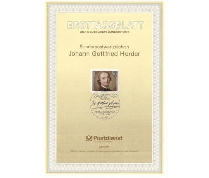 Almanya ETB 26-1994 Johann Gottfried Herder
