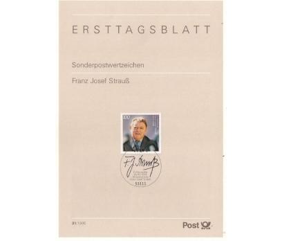 Almanya ETB 31-1995 Franz Josef Strauß