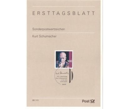 Almanya ETB 33-1995 Kurt Schumacher