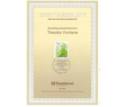 Almanya ETB 40-1994 Theodor Fontane