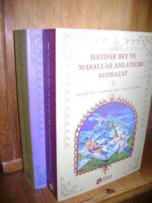 HAYDAR BEY VE MASALLAR ANLATICISI ŞEHRAZAT ( 2 CİL 1