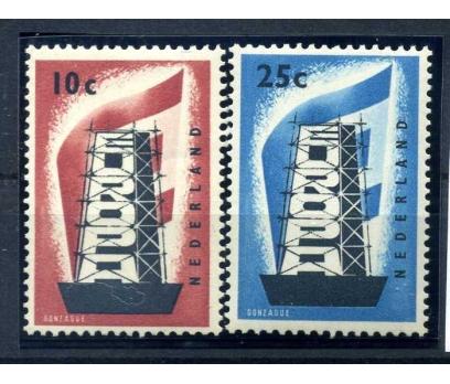 HOLLANDA ** 1956 EUROPA CEPT TAM SERİ  SÜPER
