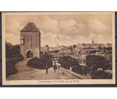 Luxemburg Tarihi Şehir Karpostal 1