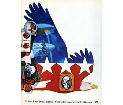 ABD ** 1977 ÖZEL FÖYÜNDE TAM SERİLER SÜPER 2