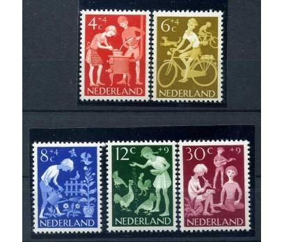HOLLANDA ** 1962 ÇOCUKLAR TAM SERİ  SÜPER