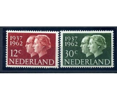 HOLLANDA ** 1962 KRALİÇE TAM SERİ  SÜPER