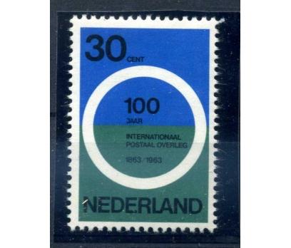 HOLLANDA ** 1963 POSTA 100.YIL TAM SERİ  SÜPER