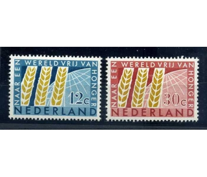 HOLLANDA ** 1963 TARIM TAM SERİ  SÜPER