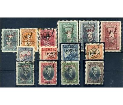 CUMHURİYET  DAMGALI 1928  2.İZMİR SÜPER(300415)