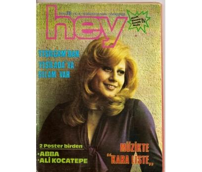 HEY DERGİSİ YIL 4 SAYI 39 14 AĞUSTOS 1974 68 SAYFA