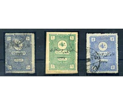 ANADOLU  DAMGALI  1921 MATBAA SÜRŞARJLI 1014-16(M)