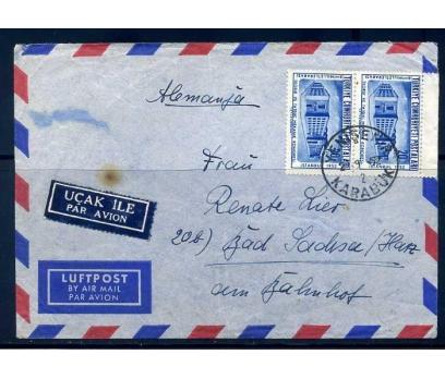 CUMH.PGZ 1952 KARABÜK  DAMG.UÇAK ETİKETLİ(290415)